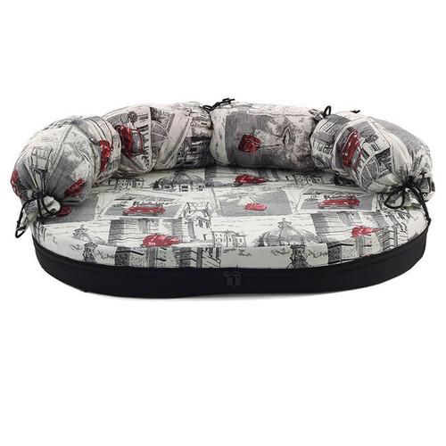 Лежак для собак Гамма Размер 1, размер 1, размер 66х50х8см., цвета в ассортименте