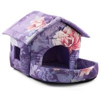Фотография товара Домик для кошек и собак Гамма, размер 45х60х40см., цвета в ассортименте