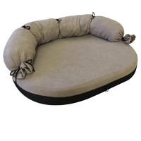 Фотография товара Лежак для собак Гамма Велюр 1, размер 1, размер 66х50х8см., цвета в ассортименте