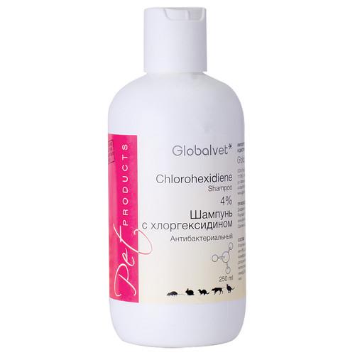 Шампунь для собак и кошек Globalvet Chlorohexidine
