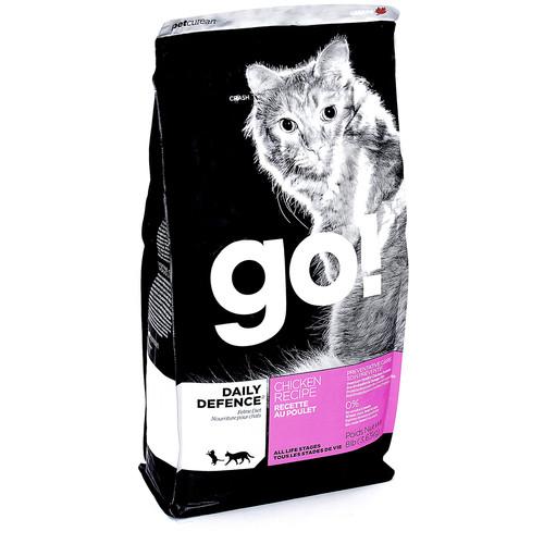 Корм для кошек GO! Natural Holistic Refresh+Renew Cat, 3.63 кг, курица с овощами