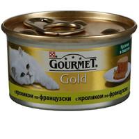 Фотография товара Корм для кошек Gourmet Gold, 85 г, кролик
