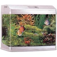 Фотография товара Аквариум для рыб Jebo 375R, размер 75х42х56см., серебро