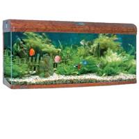 Фотография товара Аквариум для рыб Jebo 3126R, размер 128.6х50х70.5см., темное дерево