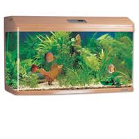 Фотография товара Аквариум для рыб Jebo 3100R, размер 100х48х62см., темное дерево