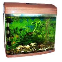 Фотография товара Аквариум для рыб Jebo 352R, размер 51х34х50см., светлое дерево