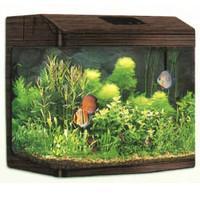 Фотография товара Аквариум для рыб Jebo 375R, размер 75х42х56см., орех
