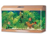 Фотография товара Аквариум для рыб Jebo 3126R, размер 128.6х50х70.5см., светлое дерево