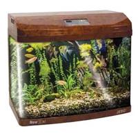 Фотография товара Аквариум для рыб Jebo 375R, размер 75х42х56см., темное дерево
