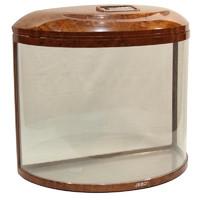 Фотография товара Аквариум для рыб Jebo 760R, размер 60.5х30х54.5см., темное дерево