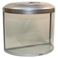 Фотография товара Аквариум для рыб Jebo 760R, размер 60.5х30х54.5см., серебро