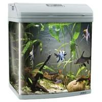 Фотография товара Аквариум для рыб Jebo 352R, размер 51х34х50см., серебро