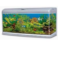 Фотография товара Аквариум для рыб Jebo 3126R, размер 128.6х50х70.5см., серебро