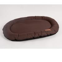 Фотография товара Лежак для собак Katsu Pontone Kasia XL, размер 117х86см., шоколад