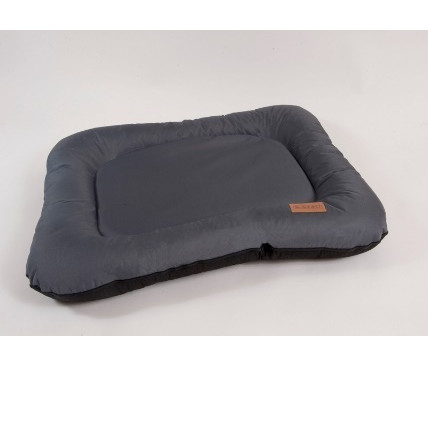 Лежак для собак Katsu Pontone Grazunka M, размер 86х58см., серый