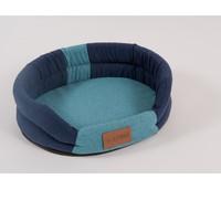 Фотография товара Лежак для собак Katsu Animal S, размер 65х54см., синий/голубой