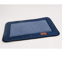 Фотография товара Лежак для собак Katsu Plaska S, размер 82х55см., синий/голубой