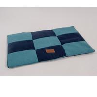 Фотография товара Лежак для собак Katsu Kern M, размер 85х65см., синий/голубой