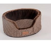 Фотография товара Лежанка для собак Katsu Studnia M, размер 80х60х30см., шоколадный