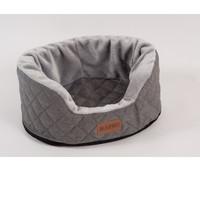 Фотография товара Лежанка для собак Katsu Studnia M, размер 80х60х34см., серый