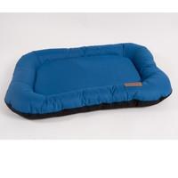 Фотография товара Лежак для собак Katsu Pontone Grazunka XL, размер 118х85x13см., синий