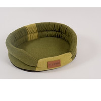 Фотография товара Лежак для собак Katsu Animal M, размер 72х60см., хаки/салатовый