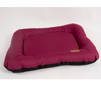 Фотография товара Лежак для собак Katsu Pontone Grazunka S, размер 70х40см., бордовый