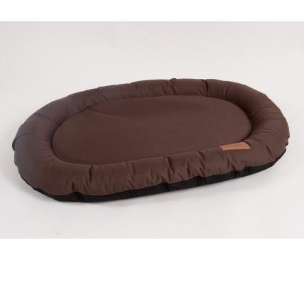 Лежак для собак Katsu Pontone Kasia S, размер 74х46х9см., шоколад