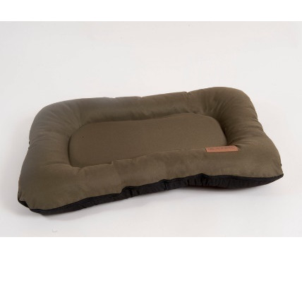 Лежак для собак Katsu Pontone Grazunka M, размер 86х58см., хаки