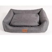 Фотография товара Лежанка для собак Katsu Sofa Opi M, размер 70х60х20см., серый