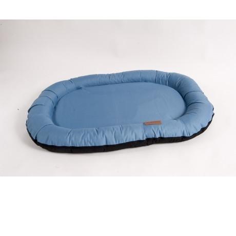 Лежак для собак Katsu Pontone Kasia M, размер 88х62х8см., синий