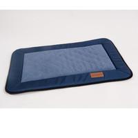 Фотография товара Лежак для собак Katsu Plaska L, размер 112х83см., синий/голубой