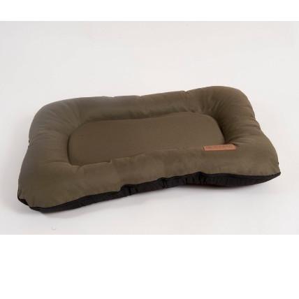 Лежак для собак Katsu Pontone Grazunka S, размер 70х40см., хаки