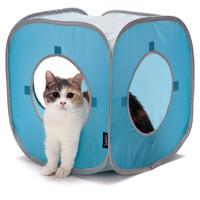 Фотография товара Домик для кошек Kitty City Kitty Play Cube, размер 38x38x38см.