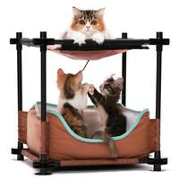 Фотография товара Лежак для кошек Kitty City Cozy Bed, 1.38 кг, размер 44х45х45см.