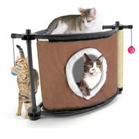 Фотография товара Игровой комплекс для кошек Kitty City Sleepy Corner, 1.25 кг, размер 44х45х45см.