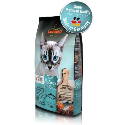 Корм для кошек Leonardo Adult, 7.5 кг, лосось
