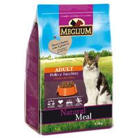 Фотография товара Корм для кошек MEGLIUM Cat Adult, 1.5 кг, курица и индейка