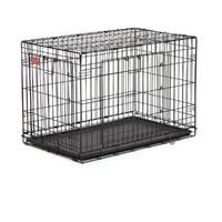 Фотография товара Клетка для собак Midwest Life Stages A.C.E. MaxLock, размер 1, 7.9 кг, размер 78х50х55см., черный