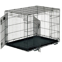 Фотография товара Клетка для собак Midwest Life Stages, размер 3, 19.5 кг, размер 107х71х79см., черный