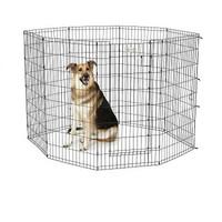 Фотография товара Вольер для собак Midwest Life Stages, размер 3, 15.4 кг, размер 61х122см., черный