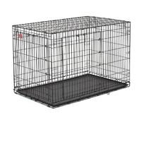 Фотография товара Клетка для собак Midwest Life Stages A.C.E. MaxLock, размер 3, 10.7 кг, размер 124х79х82см., черный