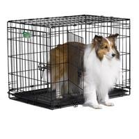 Фотография товара Клетка для собак Midwest iCrate, размер 4, 7.8 кг, размер 76х48х53см., черный
