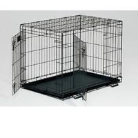 Фотография товара Клетка для собак Midwest Life Stages, размер 2, 14.1 кг, размер 91х61х69см., черный