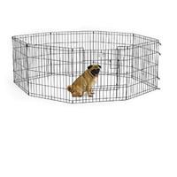 Фотография товара Вольер для собак Midwest Life Stages, размер 1, 8.4 кг, размер 61х61см., черный