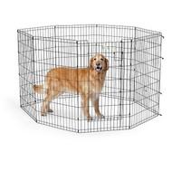 Фотография товара Вольер для собак Midwest Life Stages, размер 2, 13.7 кг, размер 61х107см., черный