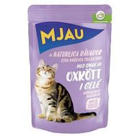 Фотография товара Влажный корм для кошек Mjau, 85 г, говядина