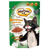 Фотография товара Корм для кошек Мнямс, размер 32, 100 г, утка, кролик и дичь