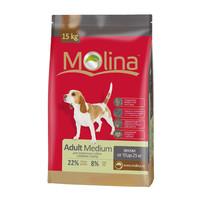 Фотография товара Корм для собак Molina Adult Medium, 15 кг, птица