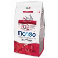 Фотография товара Корм для собак Monge Dog Mini Adult, 3 кг, курица